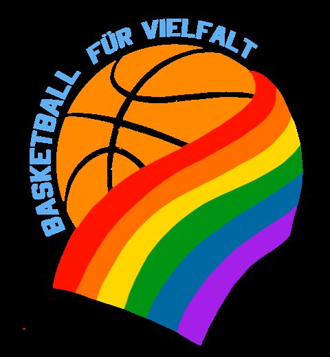 Basketball für Vielfalt Logo